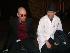2 and Uncle Kage at FWA 2007.jpg